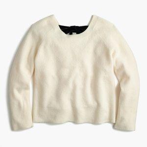J. Crew Sweaters - NWT J. Crew Women's V-Back Sweater w/ Velvet Tie